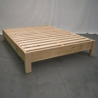 Unfinished Platform Bed