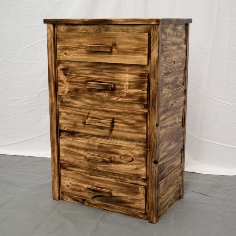 Torched Farmhouse Dresser